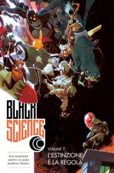 Black Science vol. 7: L'estinzione è la regola, copertina di Matteo Scalera