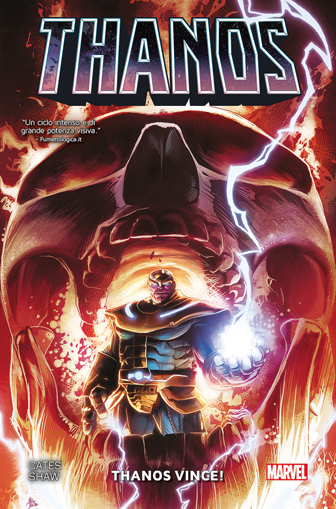Thanos vince!, copertina di Mike Deodato Jr