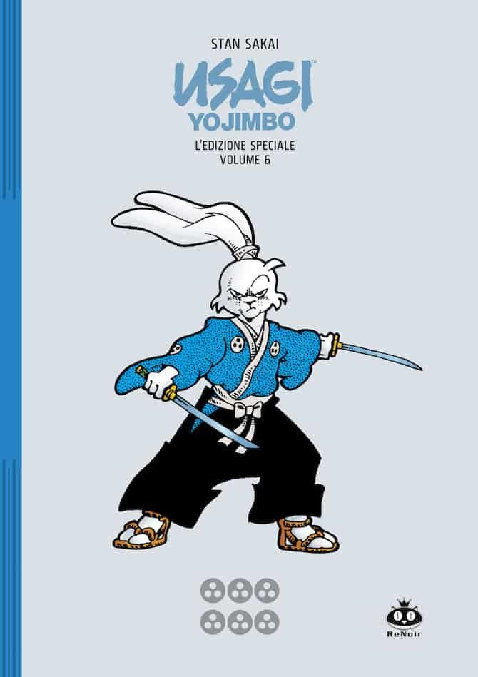 Usagi Yojimbo - Edizione Speciale vol. 6, copertina di Stan Sakai