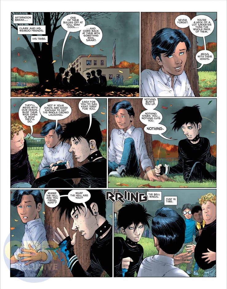 Superman: Year One #1, anteprima 09