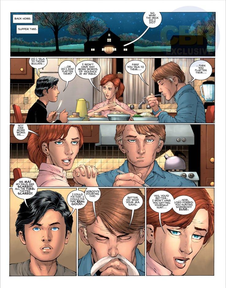 Superman: Year One #1, anteprima 12