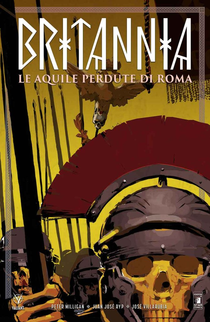 Britannia vol. 3: Le Aquile perdute di Roma, copertina di Cary Nord