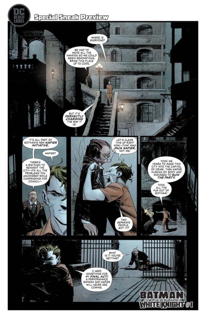 Batman: Curse of the White Knight #1, anteprima 02