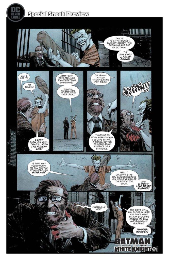 Batman: Curse of the White Knight #1, anteprima 03