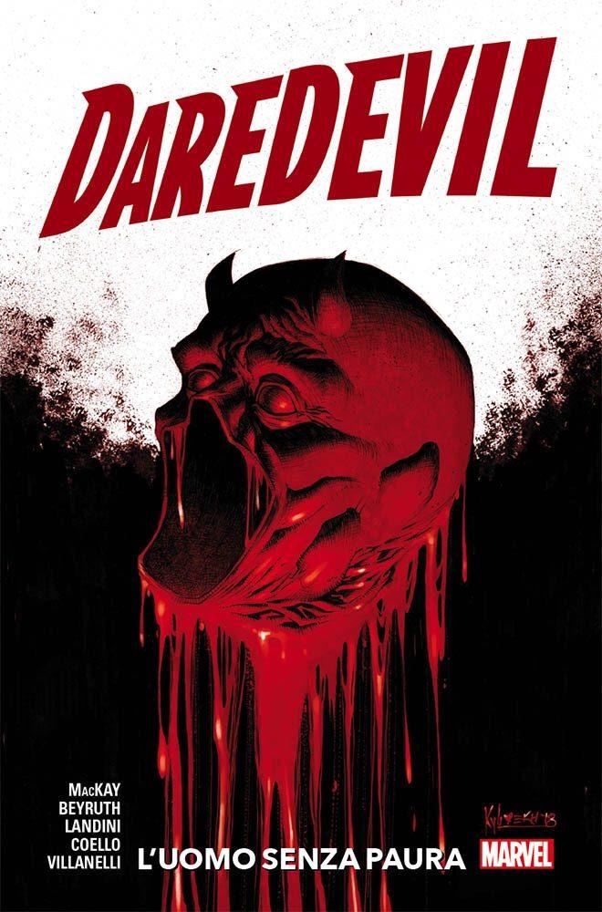 Daredevil: L'uomo senza paura, copertina di Kyle Hotz