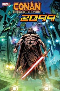 Conan 2099 #1, variant cover di Will Sliney