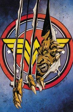 Wonder Woman #81, copertina di Yanick Paquette