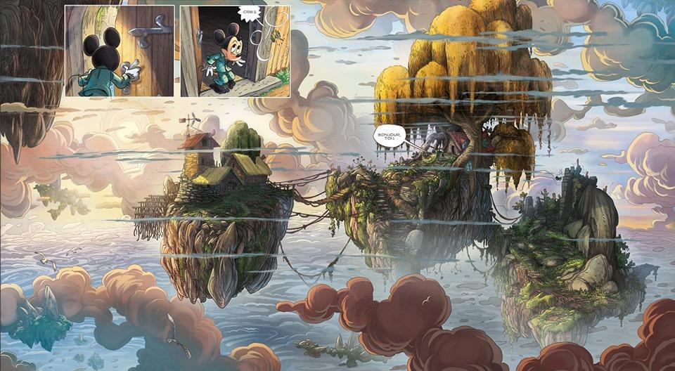 Mickey e la Terra degli Antichi