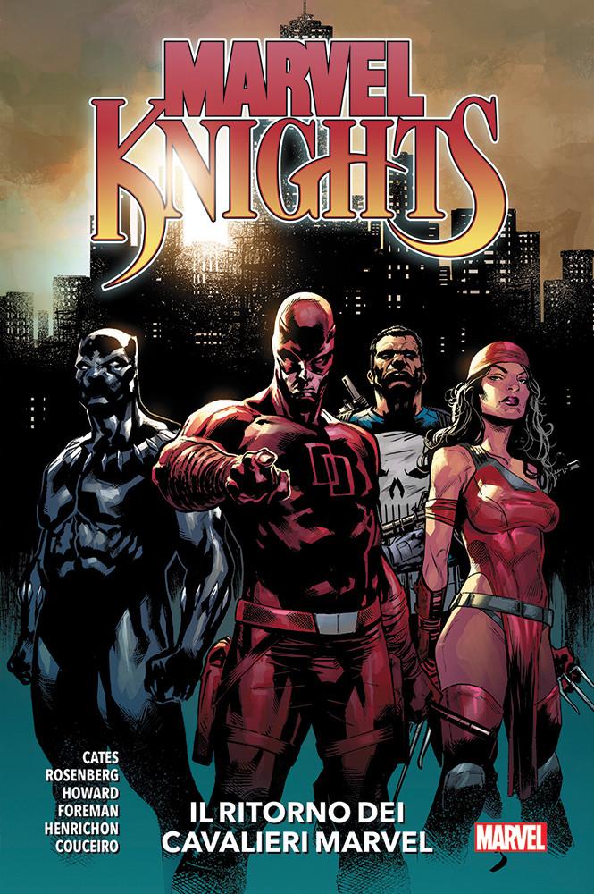 Marvel Knights: Il ritorno dei Cavalieri Marvel, copertina di Geoff Shaw