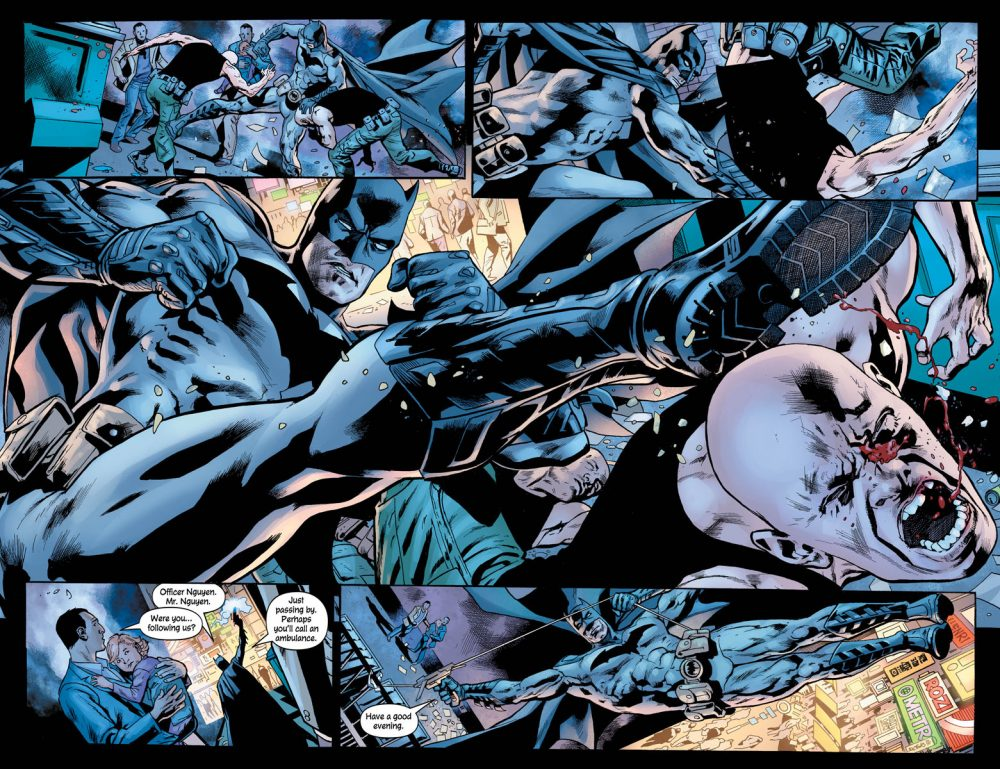 Batman's Grave #1, anteprima 06