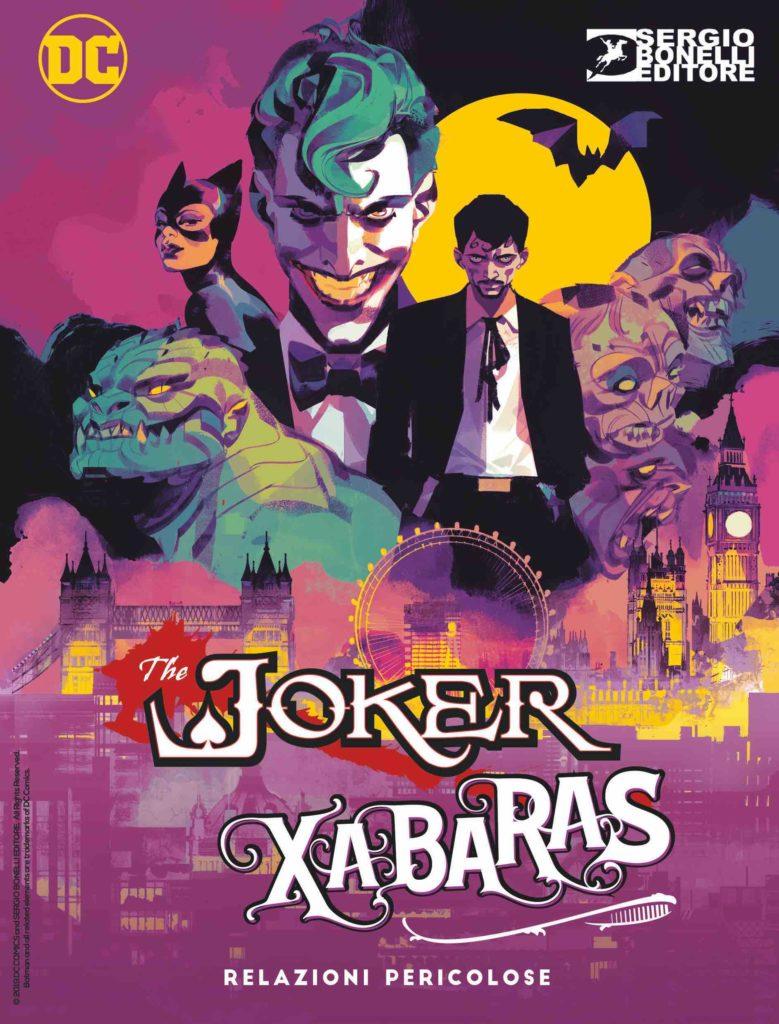 Batman/Dylan Dog: Relazioni pericolose, copertina di Gigi Cavenago (cover Villains)
