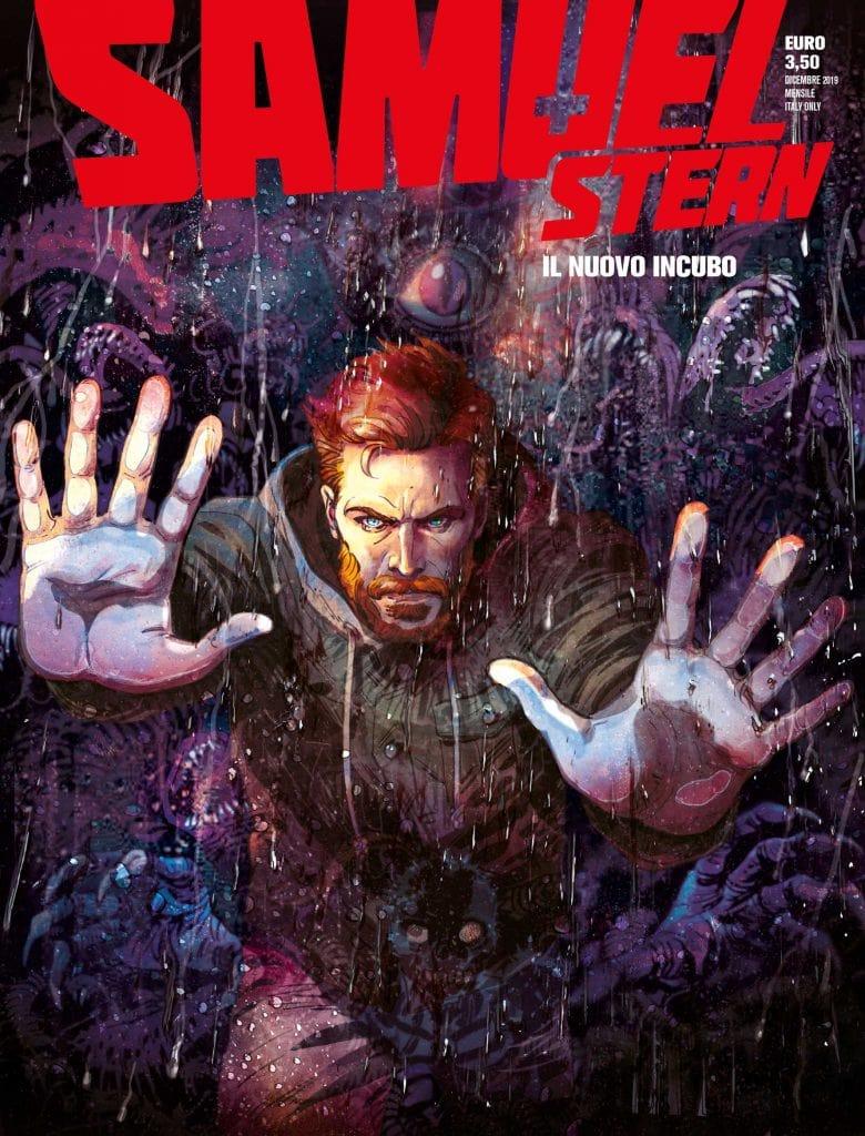 Samuel Stern 1: Il nuovo incubo, copertina di Maurizio Di Vincenzo