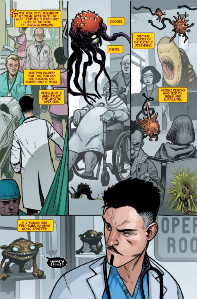 Doctor Strange #1, anteprima 03