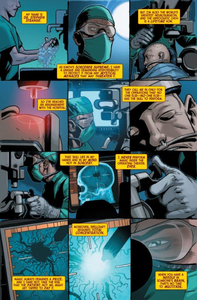 Doctor Strange #1, anteprima 04