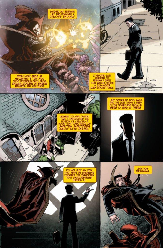 Doctor Strange #1, anteprima 05