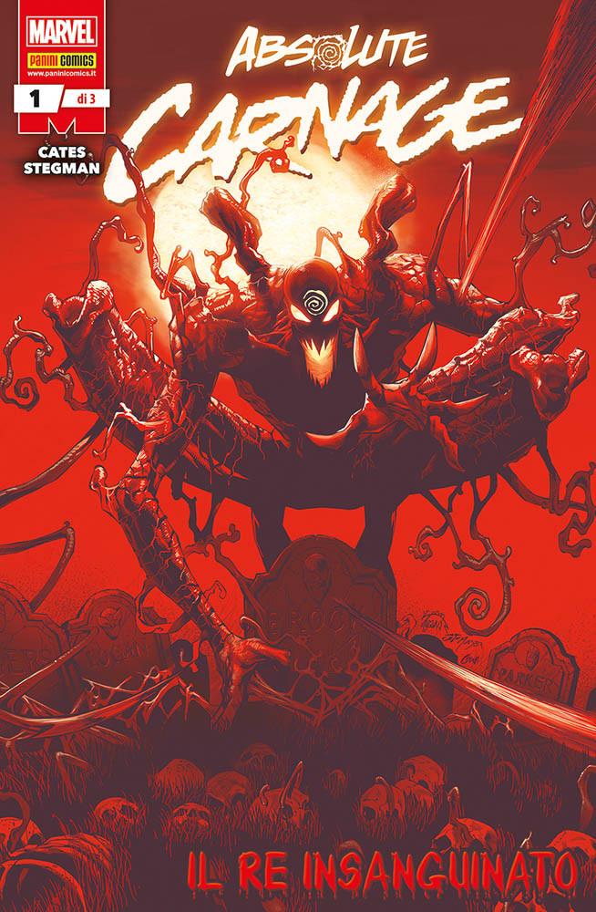 Absolute Carnage 1, copertina di Ryan Stegman