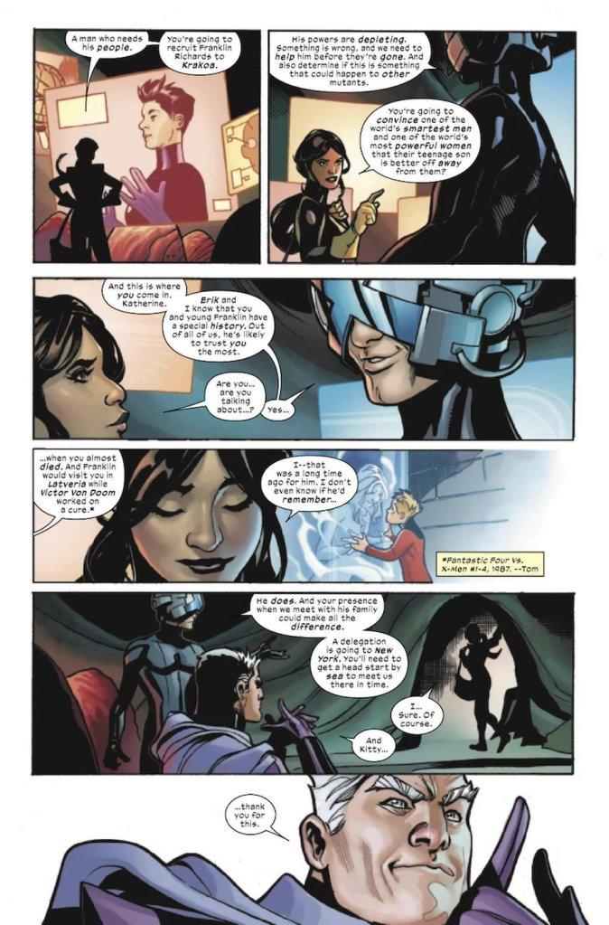X-Men/Fantastic Four #1, anteprima 04
