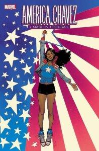 America Chavez: Made In The USA #1, copertina di Sara Pichelli