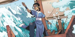 Avatar: The Last Airbender - Katara and the Pirate Silver
