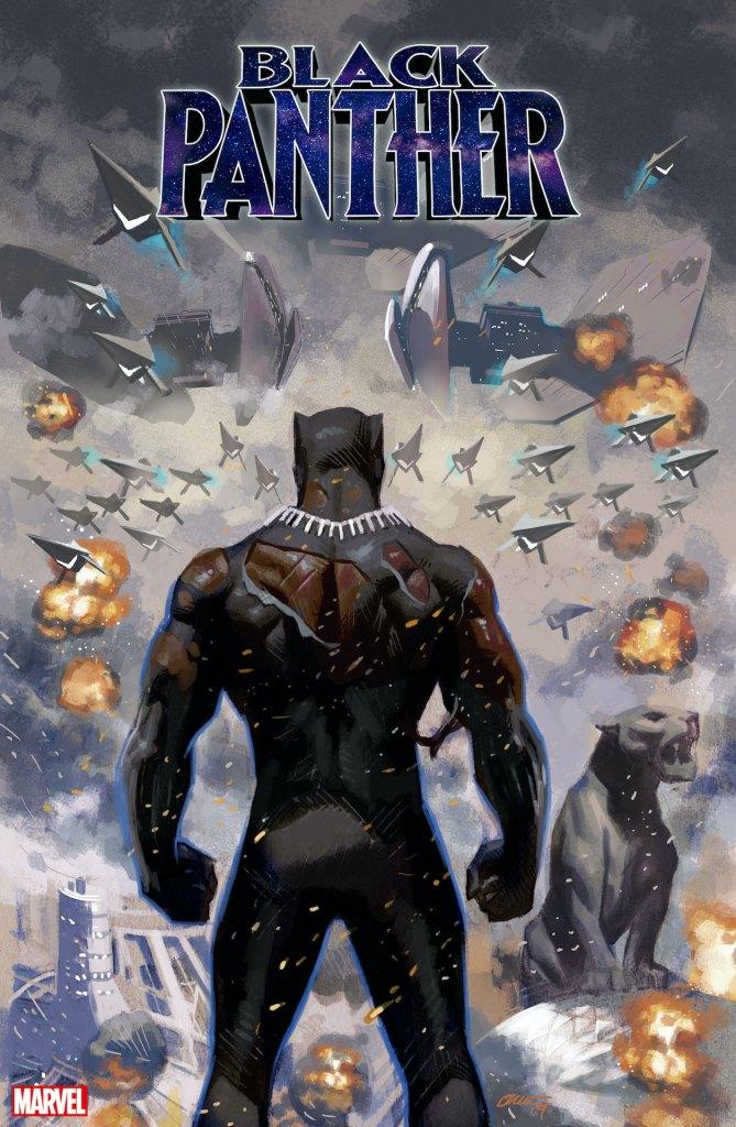 Black Panther #25, copertina di Daniel Acuna