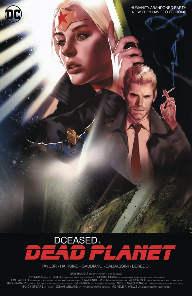 DCeased: Dead Planet #1, variant cover di Ben Oliver
