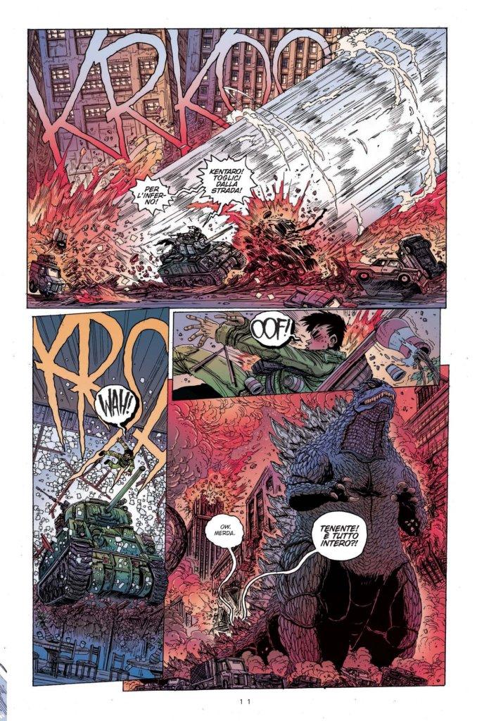 Godzilla: La guerra dei 50 anni, anteprima 06