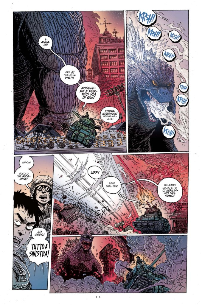Godzilla: La guerra dei 50 anni, anteprima 11