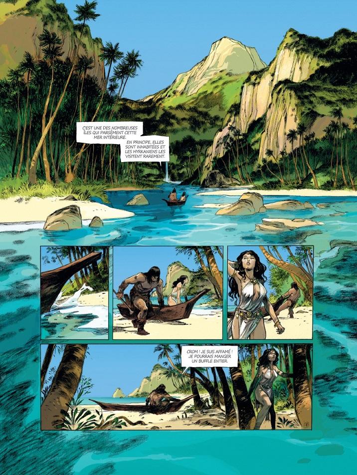 Conan le Cimmérien # 6: Chimères de fer dans la clarté lunaire, anteprima 03