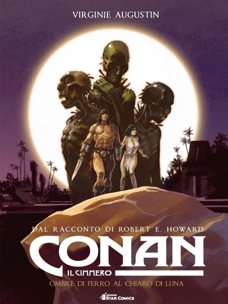 Conan il Cimmero vol. 6: Ombre di ferro al chiaro di luna, copertina di Virginie Augustin