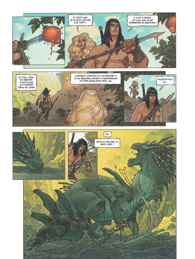 Conan il Cimmero vol. 7: Chiodi rossi, anteprima 03