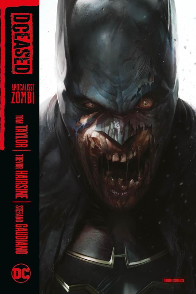 DCeased vol. 1: Apocalisse zombi, copertina di Francesco Mattina