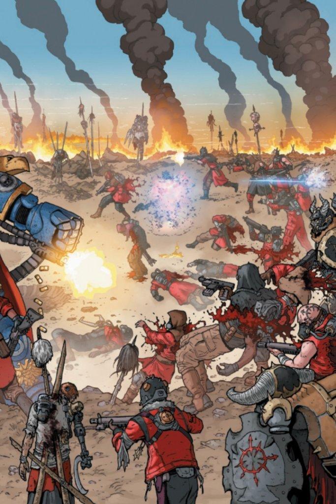 Warhammer 40,000: Marneus Calgar #1, anteprima 04
