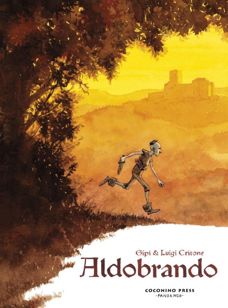 Aldobrando, copertina di Luigi Critone
