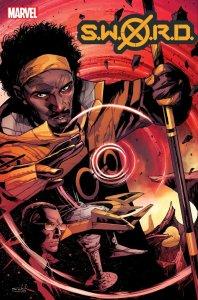 S.W.O.R.D. #3, copertina di Valerio Schiti