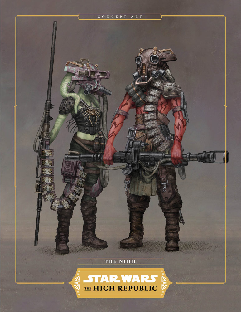 Star Wars: The High Republica - The Nihil, character design