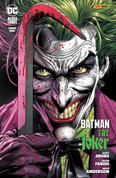 Batman: Tre Joker 1, copertina di Jason Fabok