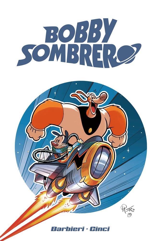Bobby Sombrero: Holy Flamingo!, variant cover di Lorenzo Pastrovicchio