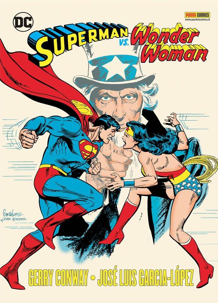 Superman vs. Wonder Woman, copertina di Jose Luis Garcia-Lopez