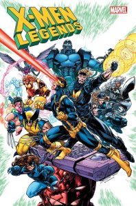 X-Men Legends #1, copertina di Brett Booth