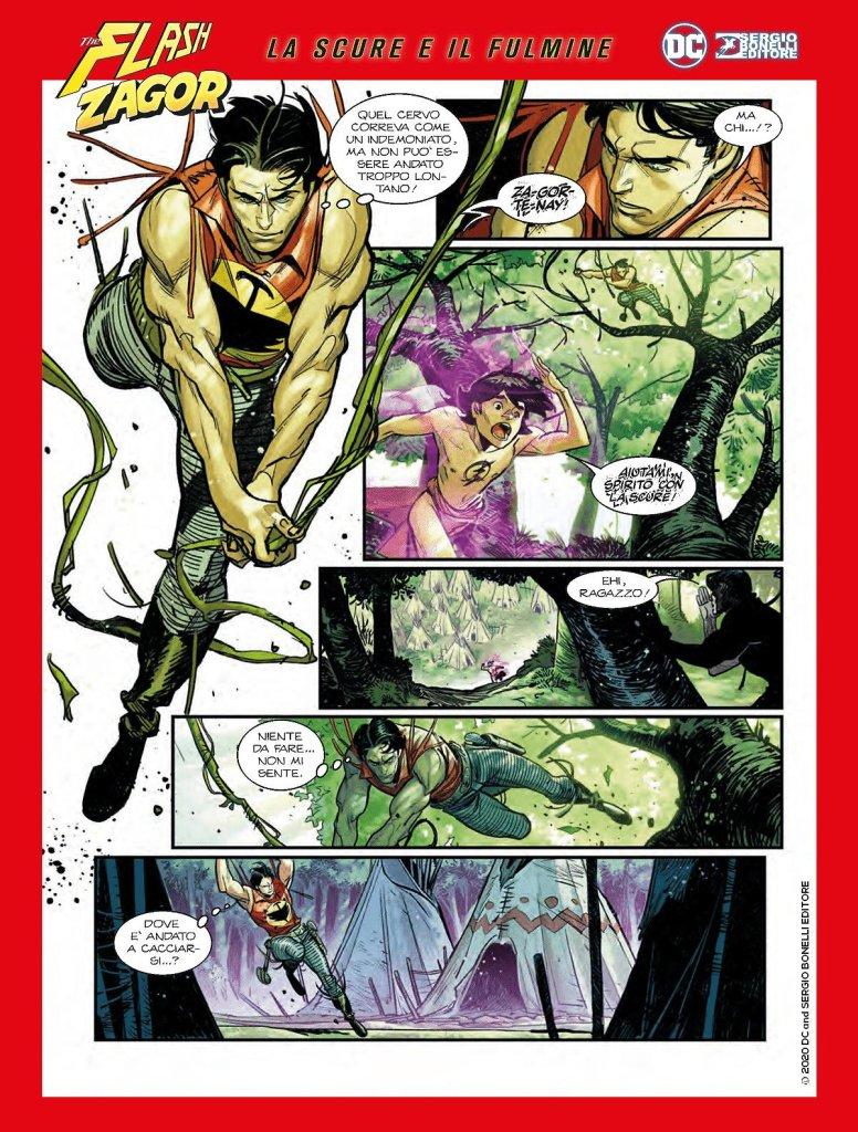 Flash/Zagor: La scure e il fulmine, anteprima 03