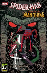 Spider-Man: Curse of the Man-Thing, copertina di Daniel Acuña