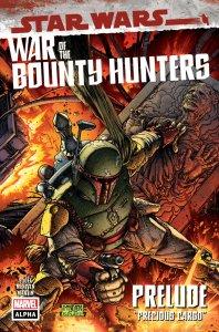Star Wars: War of the Bounty Hunters Alpha #1, copertina di Steve McNiven