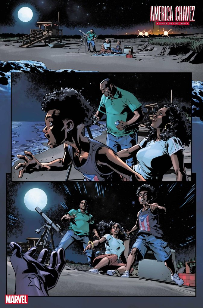 America Chavez: Made in the U.S.A. #1, anteprima 02