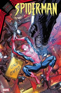 King in Black: Spider-Man #1, copertina di Carlos E. Gomez