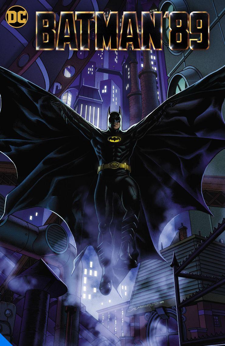 Batman '89, copertina di Joe Quinones
