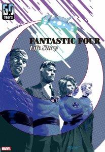 Fantastic Four: Life Story #1, copertina di Daniel Acuña