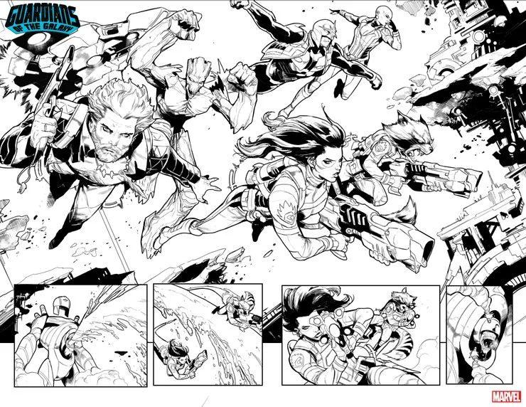 Guardiani della Galassia #13, anteprima 01