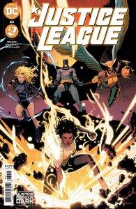 Justice League #61, copertina di David Marquez