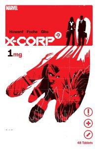 X-Corp #1, copertina di David Aja