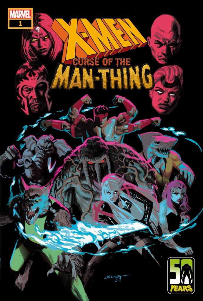 X-Men: Curse of the Man-Thing #1, copertina di Daniel Acuña